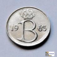 Bélgica - 25 Céntimes - 1965 - 1951-1993: Baudouin I