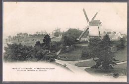 CASSEL . Les Moulins De Cassel Vus De La Terrasse Du Château . - Cassel