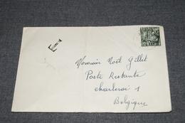 Très Bel Envoi De 1949,timbre Taxe Sur Courrier + Manuscrit,très Belle Oblitération - Covers