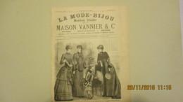 LA MODE - BIJOU / N° 30 / DECEMBRE 1883 / MAISON VANNIER / POITIERS - Livres, BD, Revues
