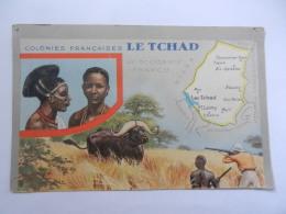 TCHAD PUBLICITE LION NOIR - Chad