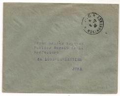 Cachet * P.P. * MONTMORENCY Val D'Oise, 1946 Sur Enveloppe. - Cachets Manuels