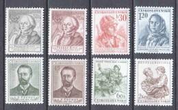 Czechoslowakia 1954 Mi 867-872 + 876-877 MNH - Nuevos