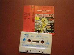 IRON MAIDEN K7 AUDIO VOIR PHOTO...ET LIRE IMPORTANT...  REGARDEZ LES AUTRES (PLUSIEURS) - Cassettes Audio