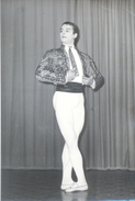 "AUTOGRAFO DÉDICACÉ ""JOSÉ NEGLIA"" CELEBRE BAILARÍN FALLECIDO EN TRAGICO ACCIDENTE DANCER SIGNATURE EXCLUSIVE  AÑO 1961 - Autographes"