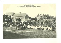54 LUNEVILLE FETE DE SAINT ANTOINE 1908 LA NOCE TRAGIQUE N°4 RECEPTION DES MOBILES PAR LES INVITES MEURTHE ET MOSELLE - Luneville