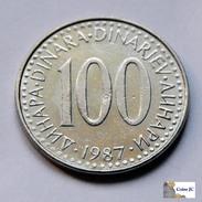 Yugoslavia - 100 Dinara - 1987 - Yugoslavia