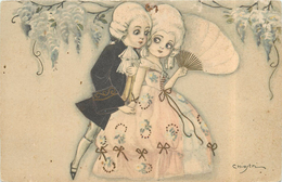CHIOSTRI Carlo (illustrateur) - Couple D'enfants. - Chiostri, Carlo