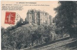 Cpa 23 Chateau De Boussac - Otros Municipios