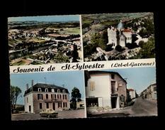 47 - SAINT-SYLVESTRE - Vue Aérienne - Multi Vues - France