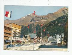 G-I-E , Cp , Automobile , CITROEN 2 CV , Voyagée 1968 , 73 , VAL D'ISERE , La Station , Ed : Cap - Voitures De Tourisme