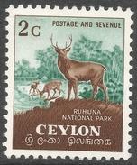 Ceylon. 1951-54 Definitives, 2c MH. SG 419 - Sri Lanka (Ceylon) (1948-...)