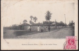 CPA - (Gambie) Bathurst (gambia River) - Part Of The Native Village (Banjul) - Gambie