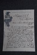 Lettre Ancienne - BERNE ,Exportation De Fromages Suisses , BURGI Et Cie. - Suisse