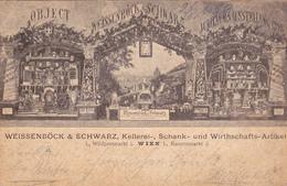 Wien-Weissenböck & Schwarz Kellerei-Schank Und Wirthschafts Artikel 1898 - Viena