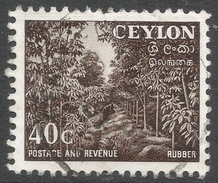 Ceylon. 1951-54 Definitives, 40c Used. SG 425 - Sri Lanka (Ceylon) (1948-...)