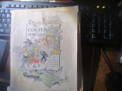 A RELIER - LES CONTES DE PERRAULT - ILLUSTRES PAR JOB, VINAR- Etc - VOIR PHOTOS - Livres, BD, Revues