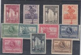 LOTESUBA 05 GUINEA Nº 191/201 SIN CHARNELA - Guinea Española