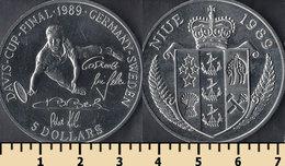 Niue 5 Dollars 1989 - Niue
