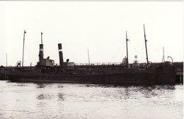 Ship Photo Workington Harbour & Dock Board Dredger Hoppers Oldside Moss Bay - Boats