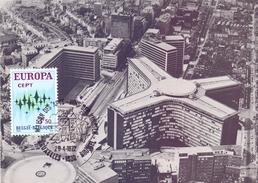 BELGIQUE EUROPA CEPT  MAXIMUN  1971  (FEB170076) - Mercati