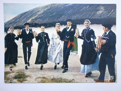 Postcard Au Pays Maraichin French Folk Dance My Ref B2337 - Dances