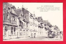 F-44-La Baule-41P142 Les Chalets Ker Venet, Bergeronnette, St Expedit, Les Villas, St Michel, Yvette, Animation, Tramway - La Baule-Escoublac