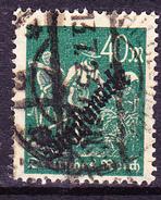 Deutsches Reich German Empire Empire Allemand - Dienstmarke/Service (Mi.Nr. 77) 1923 - Gest. Used Obl. - GEPRÜFT - Dienstzegels