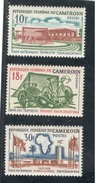 Cameroun1964: 405-7mnh** - Cameroun (1960-...)