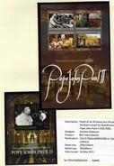 2010 - GAMBIA -  Catg.. Mi. 6465/6469 - NH - (I-SRA3207.23) -  POPE JOHN PAUL II 1920-2005 - Gambia (1965-...)