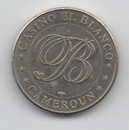 Cameroun : Jeton De Casino El Blanco (Monnaie De Paris) RARE - Casino