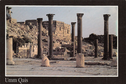 Jordan Jordanie - Umm Qais Or Qays -  أم قيس  - Basilical Terrace - Photo: C. Nuffer - 2 S - Jordan