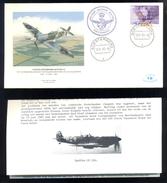 NETHERLANDS FDC * VICKERS SUPERMARINE SPITFIRE Vb * MILITARY AVIATION MUSEUM SOESTERBERG 1993 - Vliegtuigen