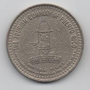 The Tourism Company Of Puerto Rico : Jeton De Casino 1987 Slot Machine $1 Acceptable à Tous Les Casinos à L'époque - Casino