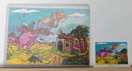 MONDOSORPRESA - PUZZLE FERRERO, FIGURATIVO K 99 N° 121 + CARTINA - Puzzles
