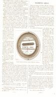 LE BAROMETRE ABSOLU De HANS Et HERMARY 1886 - Technical