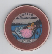 Jeton De Casino De Monte-Carlo SBM : Série Illustration - Casino