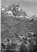 VAL D'AOSTA - CERVINIA - BREUIL - B/N - EDIZ. MARIANI - VIAGGIATA 1960 - Altre Città