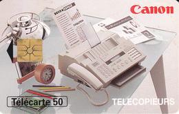 TELECARTE - Canon Télécopieurs - 50 Unités - Télécartes