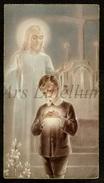 Communieprentje / Communie / Communion / 2 Scans / 1938 / Assebroek / Emiel Lievens - Communion