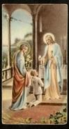 Communieprentje / Communie / Communion / 2 Scans / 1940 / Merksem / Martin Bonten - Communion