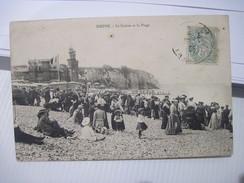 CPA DIEPPE  Le  Casino Et La Plage T.B.E. 1906 - Dieppe