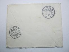 1909 ,  KUB , Klarer Ankunftstempel Auf Brief Aus  BÖRSSUM - Colony: German South West Africa