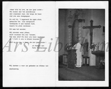 Doodsprentje / Bidprentje / Avis De Décès / 2 Scans / Pastoor Deken / Alfons Van Hove / Zandhoven / Itegem / 1977 - Religion & Esotérisme