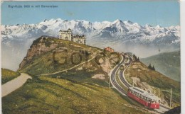 Switzerland - Rigi-Kulm Mit Berneralpen - Train - Trains