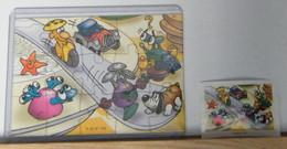 MONDOSORPRESA - PUZZLE FERRERO, FIGURATIVO K 02 N° 109 + CARTINA - Puzzles
