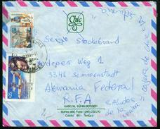 BR Chile, Temuco - 1989 Luftpost Brief Nach BRD, Semmenstedt - Chile