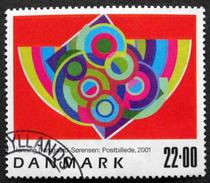 Denmark 2001   MiNr.1286  (O) KUNST  ( Lot  D 655 )