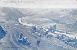 CHILI Chile Cile - Vaile Del MALLECO - Cordillera De Los Andes - CPA - - Chile