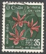 Ceylon. 1958-62 Definitives. Redrawn Inscriptions, 35c Used. SG 457 - Sri Lanka (Ceylon) (1948-...)